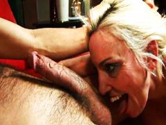 housewife, cock, over, blonde