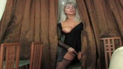 russian, blonde, doggystyle, dress, milf, cock, stockings, young, blowjob, masturbating