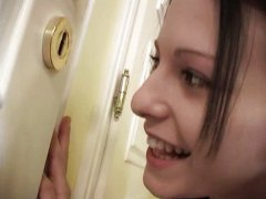 Mili Jay, shot, teens, mili jay, gets, face, facials