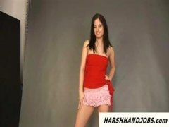 brunette, handjob, tease, pov point of view, funny, tricked, european, stripper, photo, during