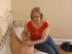 cumshots, old + young, best, knows, mom, handjobs