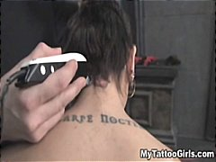 tattooing, tattoo, hardcore, tied, bdsm