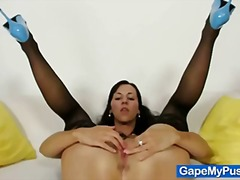 fetish, babes, t.y., fingering, pussy, shaved, gapemypussy.com, closeups, fisting, extreme