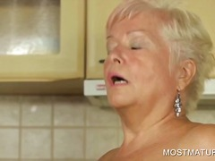 mature, hardcore, masturbation, older, mom, granny, blonde, milf, amateur