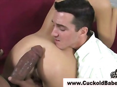 cuckold, humiliation, fetish, shoe, bigcock, femdom, interracial