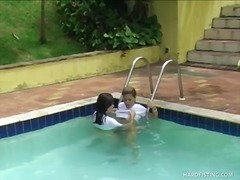latin, oral, pool, t.y., outdoors, lesbian, hardcore, fingering, fisting