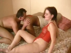 interracial, brunette, german, girl-on-girl, threesome, blowjob, amateur, kinky, 3some
