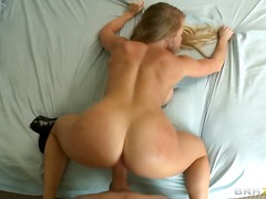 girlfriend, big, hardcore, couple, boobs, tits, blonde, pov