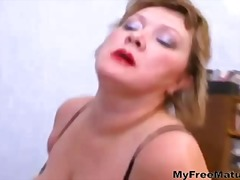 lick, russian, pussy, big, boobs, mature, stockings
