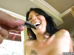 threesome, face, black, cocksucking, rough, hardcore, ffm, cowgirl, hairy, oral