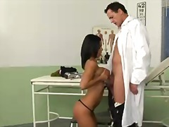 video, gun, frank gun, blowjob, lick, uniform, black, big, reality, tits