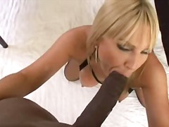 Flower Tucci, pornstar, blonde, stockings, facial, high, pov, dp, interracia, cum, oral