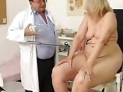 hospital, exam, clinic, bizarre, doctor, mom, bbw, pussy, mature, milf