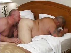 dp, oral, fat, ass, bear, lick, gay, anal, fucking, gape