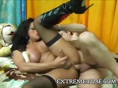 ride, deep, big, penetration, doggy-style, anal, stockings, spooning, rough, orgasm