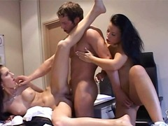 office, 3some, lick