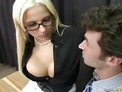 female, tall, mini, big boobs, office, tits, behind, uniform, skirt, teacher