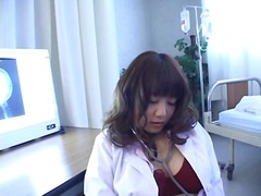 pervert, solo, doctor, speculum, asian