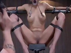 clamps, bdsm, domination, orgasm, vibrator, bondage, kink, tied, toy, sybian
