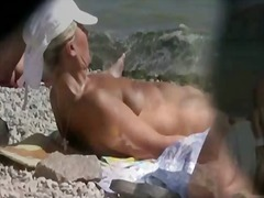 amateur, public, outdoor, nudism, nudist, beach, voyeur