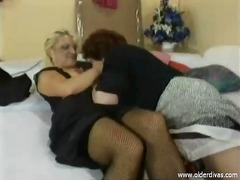 mom, dildo, lesbos, lezzy, mature, lesbian, movies, old, heels, skirt