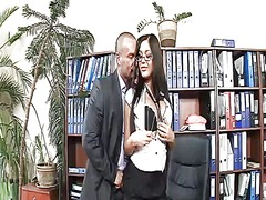 pussy, office, video, slut, lick, stockings