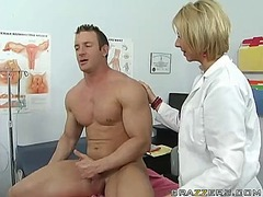 fucking, brianna, doctor, blonde, mom, milf, beach, lingerie